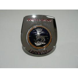 Rear wing badge