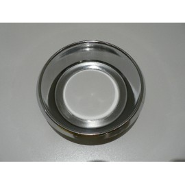 Chrome ring to petrol pipe body