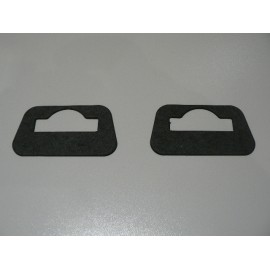Hard top locator bracket gasket - pair