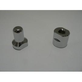 Soft-top spigot & nut- pair