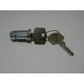 Boot lock barrel & keys