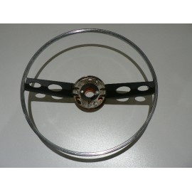 Horn ring with electrics