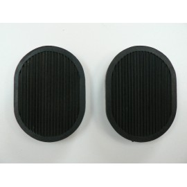 Brake and clutch pedal rubbers - pair