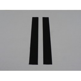 Rear window runner seal - pair