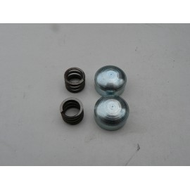 Locator springs and plugs