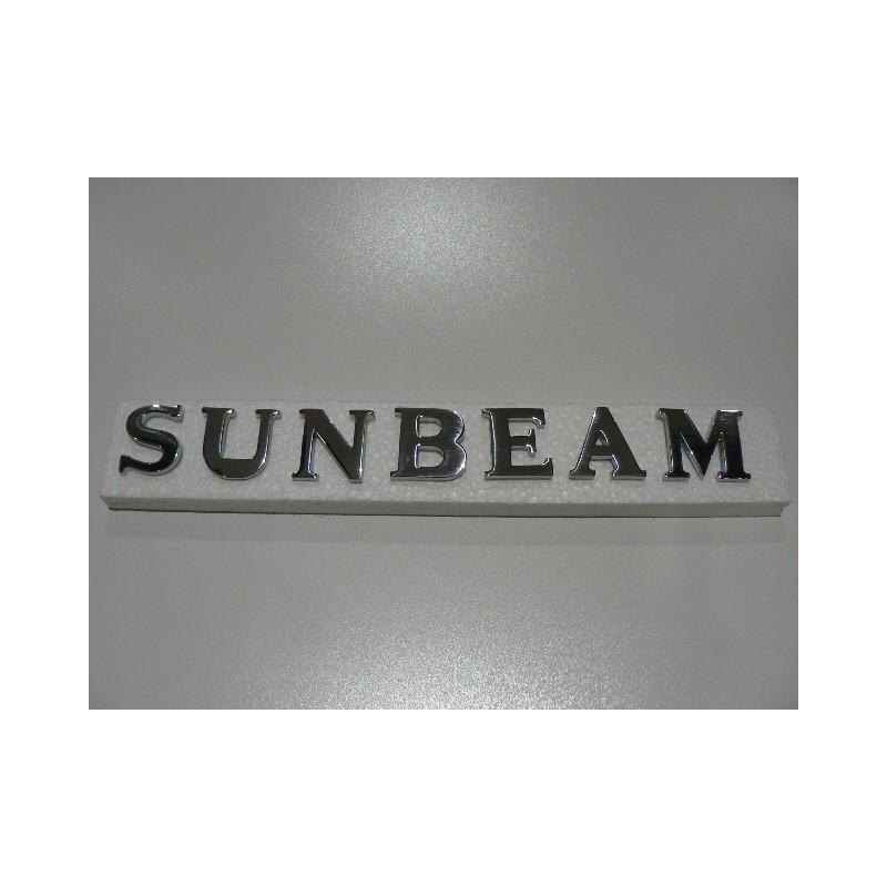 SUNBEAM letter sets